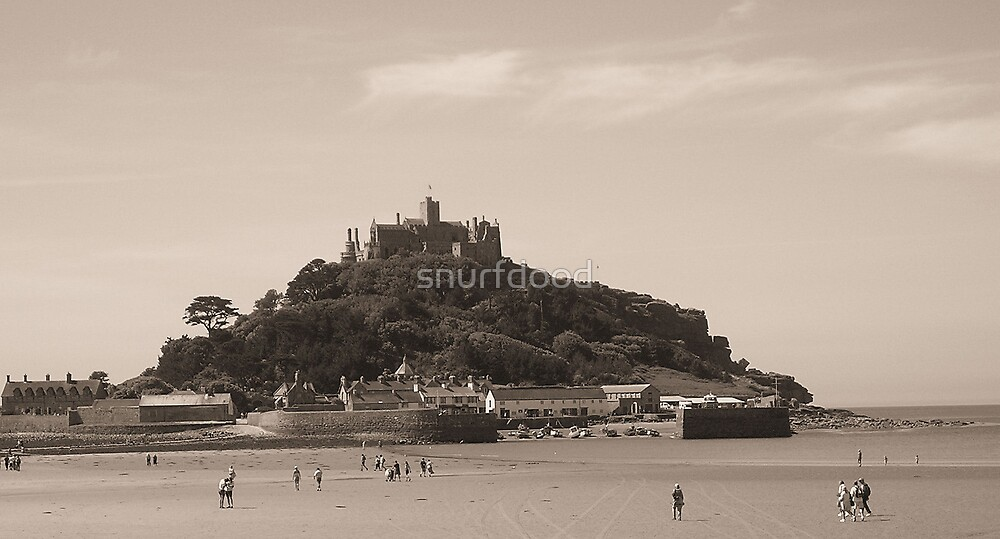 St Michael's Mount, Cornwall by snurfdood