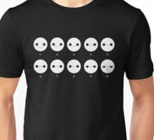 One a scale of 1 to 10, how would you rate your pain? Unisex T-Shirt