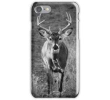 B&W Buck iPhone Case/Skin