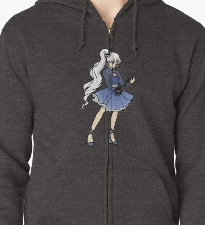 Weiss and Sword Zipped Hoodie