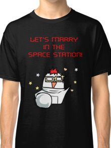 SEVEN, marry me in the space Station Mystic Messenger  Classic T-Shirt