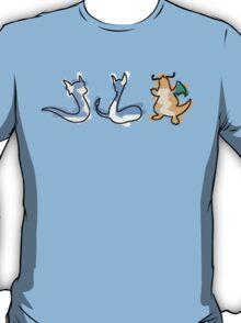 Dratini Dragonair Dragonite T-Shirt