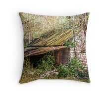Tin Roof Rusted Throw Pillow