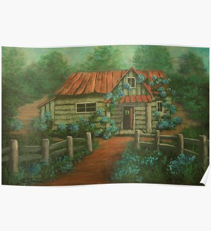 Country Cottage AC160826a  Poster