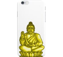 Buddha Gold Statue pixel art iPhone Case/Skin