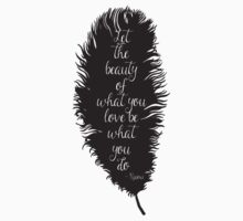 Let the Beauty Rumi  by pencreations