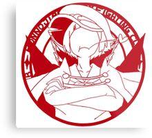 Honnōji Academy Fighting Club Metal Print