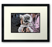 Bonnet Baby Framed Print