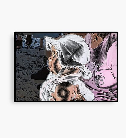 Bonnet Baby Canvas Print