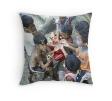 Peace To The Giver Throw Pillow