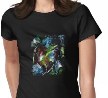 Faded Rapture Womens Fitted T-Shirt