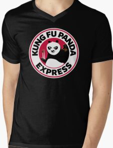 Kung Fu Panda Express Mens V-Neck T-Shirt