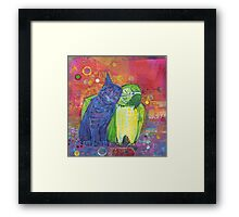 Making language #3 Framed Print