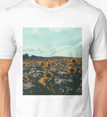 BEAUTIFUL SUNFLOWER PHOTOGRAPHY Unisex T-Shirt
