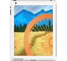 Mountain Biking Dirt Trail Scene iPad Case/Skin