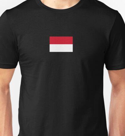 Indonesia Flag - Indonesian T-Shirt Sticker Red White Duvet Unisex T-Shirt