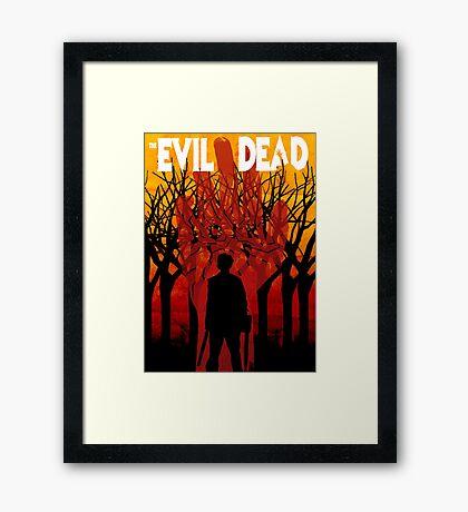 Evil Dead Framed Print