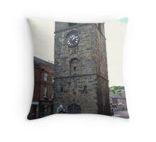 Morpeth Town Cross Throw Pillow