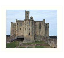 Warkworth Castle, Northumberland Art Print