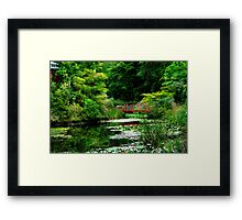 Portmeirion Lake Framed Print
