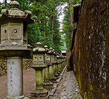 Nikko Lanterns by Michael D'Andrea Diaz
