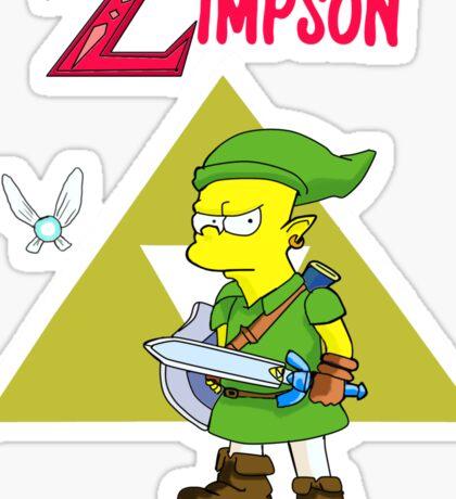 The Legend Of Zelda Fan ART Sticker