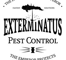 Exterminatus - Black - Warhammer by moombax