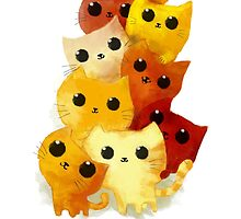 I love cute cats! by colonelle