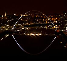 The River Tyne Quayside by Alan Rodmell