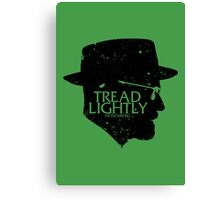 Tread Lightly Canvas Print