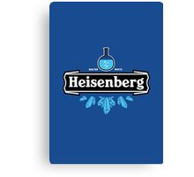 Heisenberg Blue Crystal Canvas Print