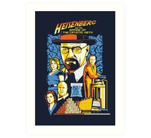 Heisenberg and the Empire of the Crystal Meth Art Print