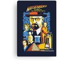 Heisenberg and the Empire of the Crystal Meth Canvas Print