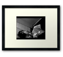 Wedding Daze Framed Print