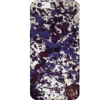 Seattle Rain Splatter in Purple iPhone Case/Skin