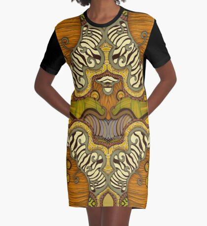 Caravan Graphic T-Shirt Dress