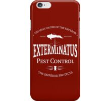 Exterminatus - White - Warhammer iPhone Case/Skin