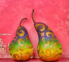 An Artful Pear by Chrystyne Novack