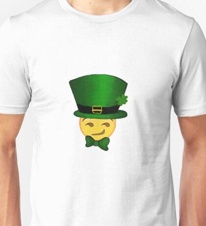 Smirking leprechaun emoji  Unisex T-Shirt