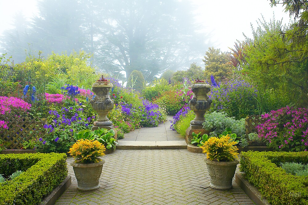 Another Misty Lanarch Garden by Neil