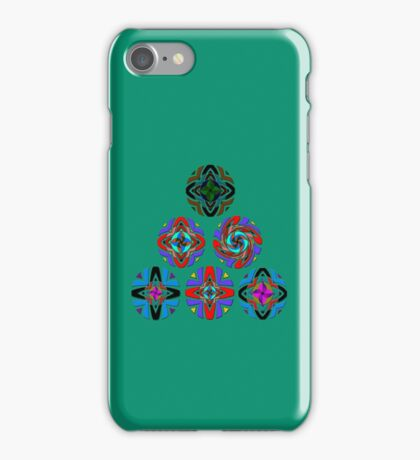 Pyramid of Mandala with a SouthWest Flair iPhone Case/Skin