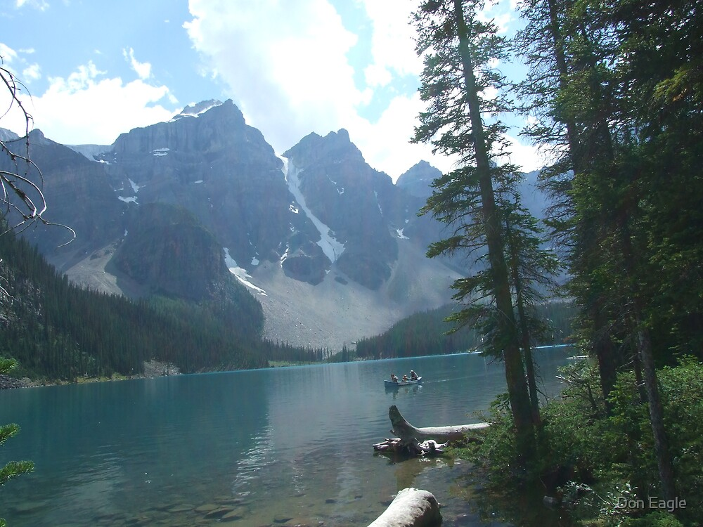 Morraine Lake II by Don Eagle
