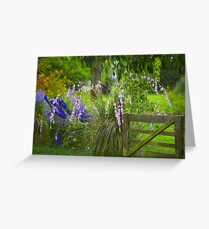 Fairy Fishing Rods Greeting Card