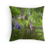 Fairy Fishing Rods Throw Pillow