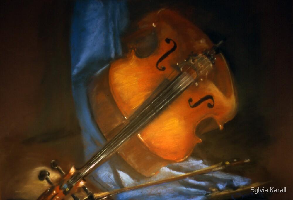 The 'cello by Sylvia Karall