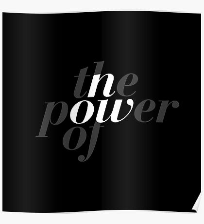 The power of now Poster