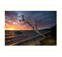 Sunset on the Isle Art Print