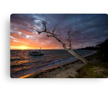 Sunset on the Isle Canvas Print