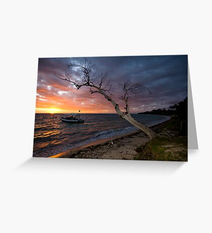 Sunset on the Isle Greeting Card