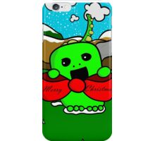 The Christmas Dinosaur iPhone Case/Skin